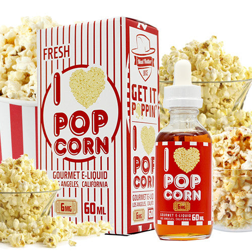 I Love Popcorn E Juice - Mad Hatter E-liquid