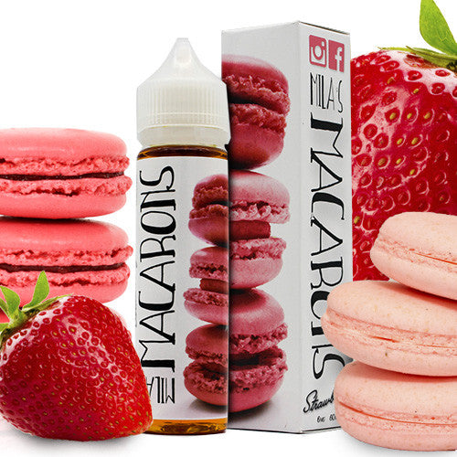Strawberry - Mila's Macarons E Liquid