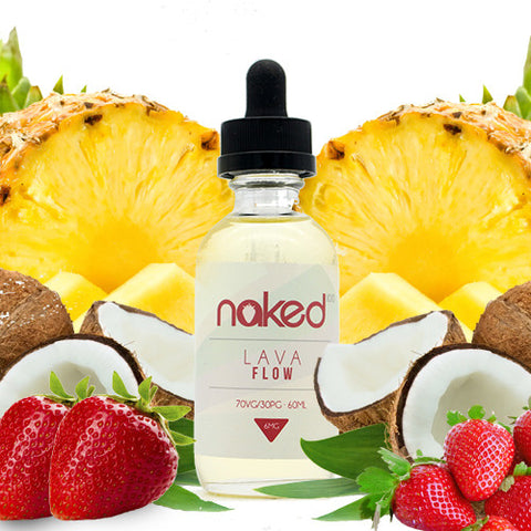 Lava Flow E Juice - Naked 100
