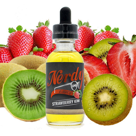 Strawberry Kiwi - Nerdy E Juice