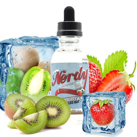 Strawberry Kiwi Chilled Out - Nerdy E Juice