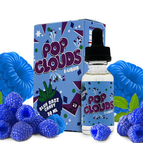 Blue Razz - Pop Clouds E Liquid