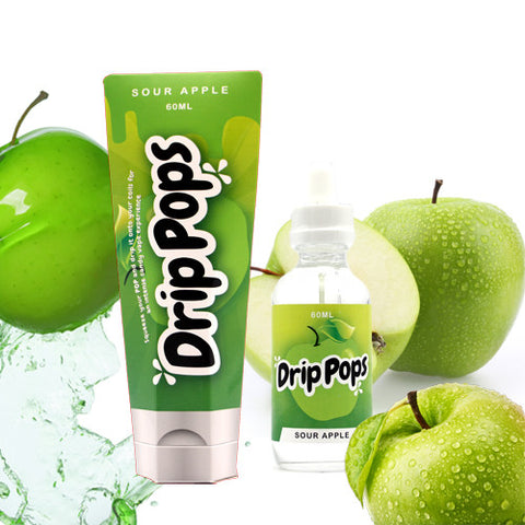 Sour Apple - Drip Pops E Liquid
