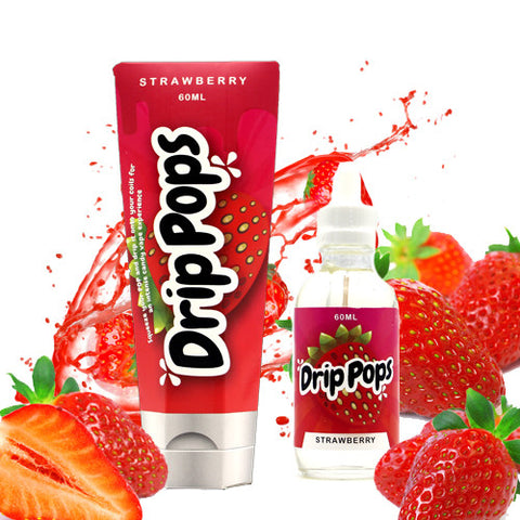 Strawberry - Drip Pops E Liquid
