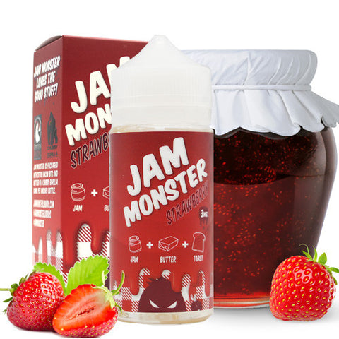 Strawberry Jam - Jam Monster