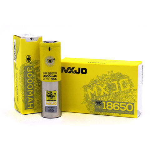 MXJO 18650F 3000mAh 35A Battery 2 Pack