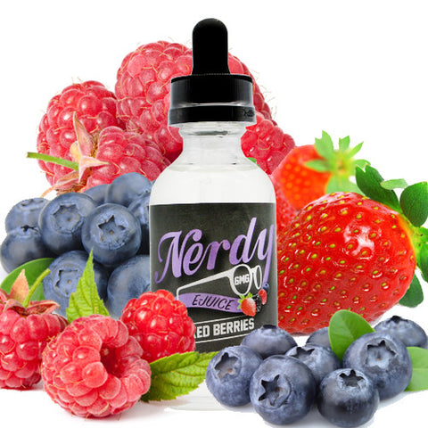 Mixed Berries - Nerdy E Juice
