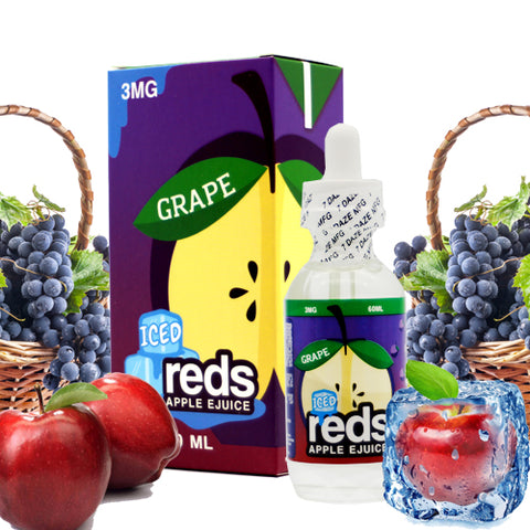 Grape apple Ice - Reds Apple E Juice