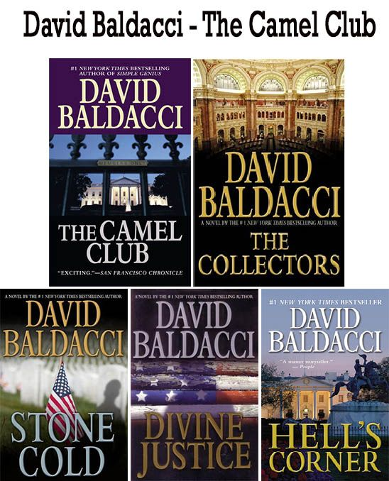 The Camel Club 1-5 Ebooks by David Baldacci