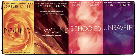 Mastered Series  1-4 by Lorelei James Ebooks - Books with Benefits