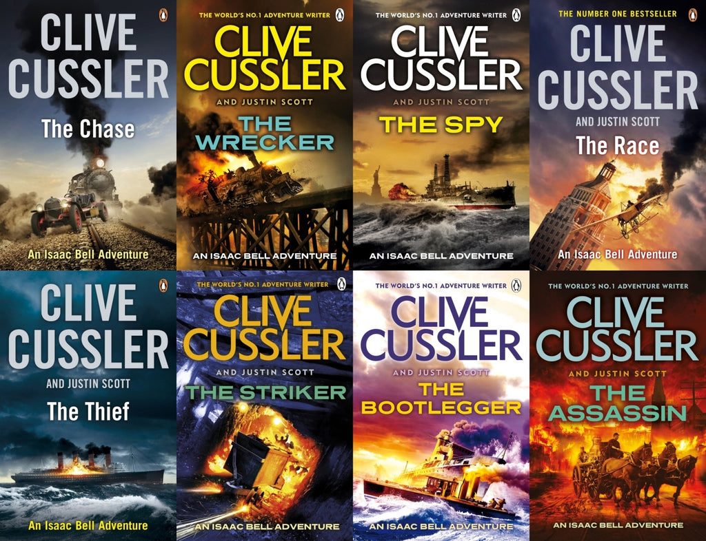 Isaac Bell Adventures by Clive Cussler Ebooks Collection 1-10