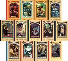 A Series of Unfortunate Events 1-13 Audiobooks Lemony Snicket MP3 - Books with Benefits