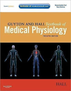 Guyton and Hall Textbook of Medical Physiology 12th Edition PDF - Books with Benefits