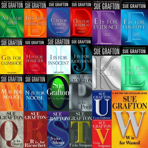 Kinsey Millhone series by Sue Grafton Collection 27 Ebooks - Books with Benefits