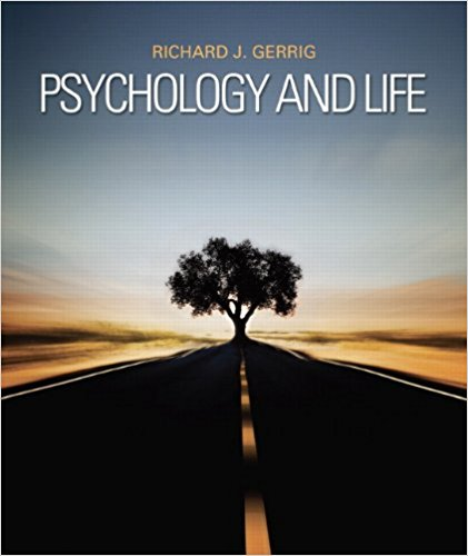 Psychology and Life 20th Edition by Richard J. Gerrig PDF