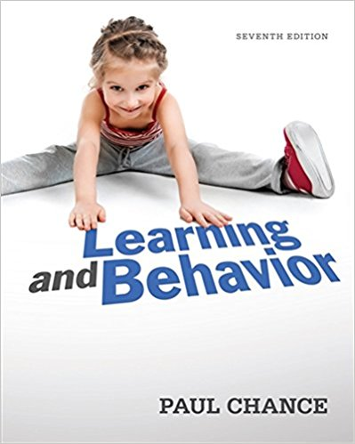 Learning and Behavior 7th Edition by Paul Chance PDF - Books with Benefits