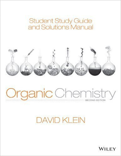 Student Study Guide and Solutions Manual Organic Chemistry 2nd Edition PDF
