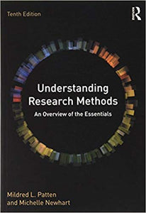 Understanding Research Methods An Overview Of The Essentials 10th Edi