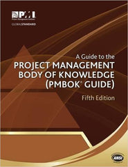 A Guide to the Project Management Body of Knowledge (PMBOK Guide)5 Edition PDF