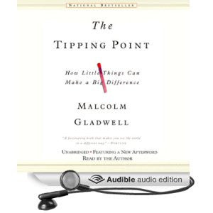 The Tipping Point - How Little Things Can Make a Big Difference - Malcolm Gladwell Audiobook MP3 - Books with Benefits