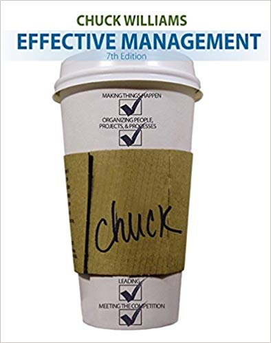 Effective Management 7th Edition by Chuck Williams PDF