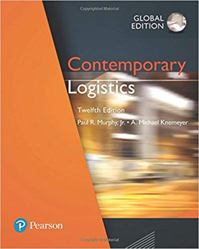 Contemporary Logistics 12th Global Edition PDF - Books with Benefits