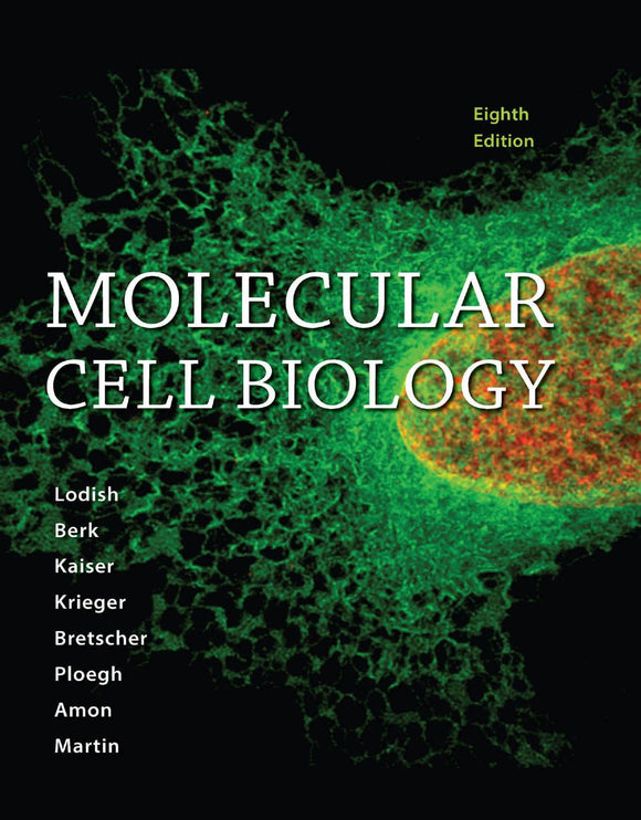 Molecular Cell Biology, 8th Edition - Harvey Lodish PDF - Books with Benefits