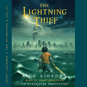 The Lightning Thief (Percy Jackson and the Olympians, Book 1) by  Rick Riordan Audiobook MP3 - Books with Benefits