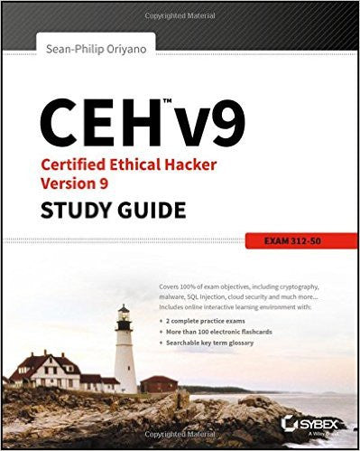 CEH v9 Certified Ethical Hacker Version 9 Study Guide 3rd Edition by Oriyano PDF - Books with Benefits