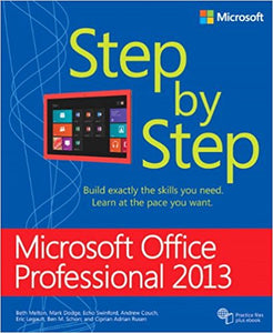 Microsoft Office Professional 2013 Step by Step 1st Edition by Beth Melton PDF - Books with Benefits