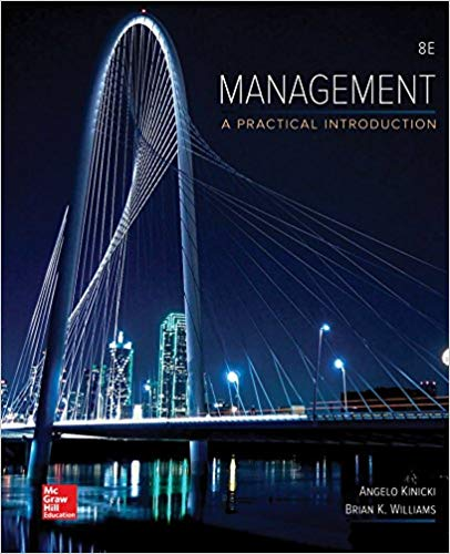 Management A Practical Introduction 8th Edition by Angelo Kinicki PDF - Books with Benefits