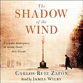 The Shadow of the Wind by Carlos Ruiz Zafon Audiobook