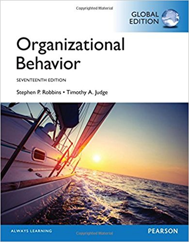 Organizational Behavior, Global Edition by ROBBINS and JUDGE PDF
