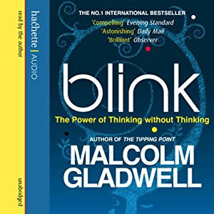 Blink: The Power of Thinking Without Thinking  by Malcolm Gladwell Audiobook MP3 - Books with Benefits