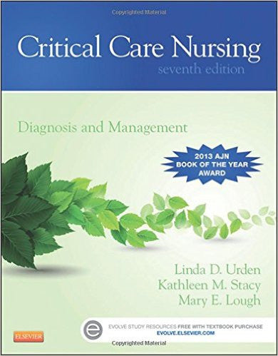 Critical Care Nursing: Diagnosis and Management, 7th Edition by Linda D. Urden PDF