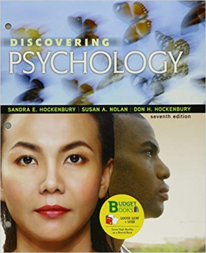 Discovering Psychology Seventh Edition by Sandra E. Hockenbury  PDF - Books with Benefits