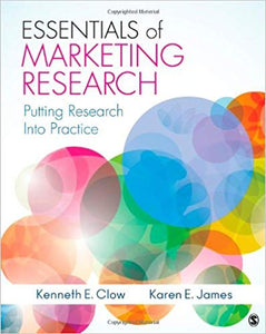 Essentials of Marketing Research: Putting Research Into Practice 1st Edition by Kenneth E. Clow PDF - Books with Benefits