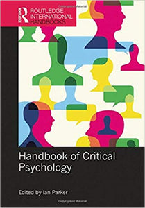 Handbook of Critical Psychology 1st Edition by Ian Parker PDF - Books with Benefits