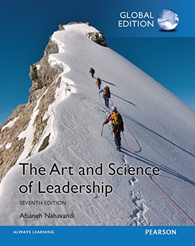 The Art and Science of Leadership 7th Global Edition PDF