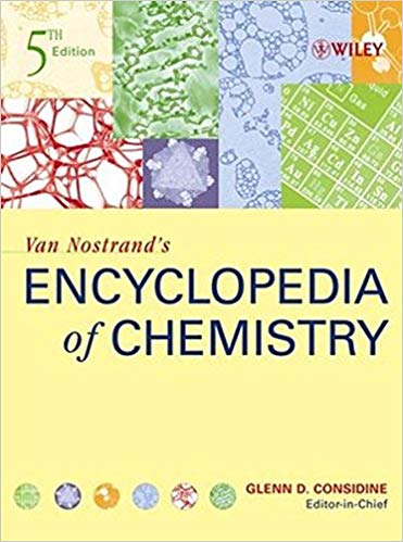 Van Nostrand's Encyclopedia of Chemistry, 5th Edition by Glenn D. Considine PDF