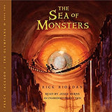 The Sea of Monsters (Percy Jackson and the Olympians, Book 2) by  Rick Riordan Audiobook MP3