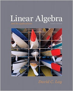 Linear Algebra and Its Applications, 4th Edition by David C. Lay PDF - Books with Benefits
