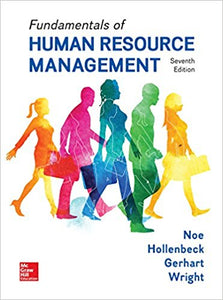 Fundamentals of Human Resource Management 7th Edition by Raymond Andrew Noe PDF - Books with Benefits