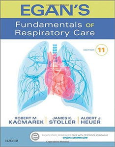 Egan's Fundamentals of Respiratory Care, 11th Edition by Robert M. Kacmarek PDF - Books with Benefits