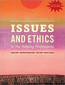 Issues and Ethics in the Helping Professions 9th Edition by Gerald Corey PDF - Books with Benefits