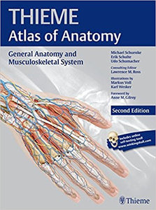General Anatomy and Musculoskeletal System,  (THIEME Atlas of Anatomy) 2nd Edition by Michael Schuenke PDF - Books with Benefits