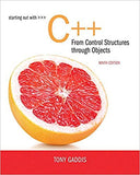 Starting Out with C++ from Control Structures to Objects 9th Edition by Tony Gaddis PDF