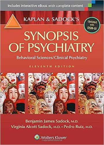 Kaplan & Sadock's Synopsis Of Psychiatry 11th Edition (ebook etextbook)