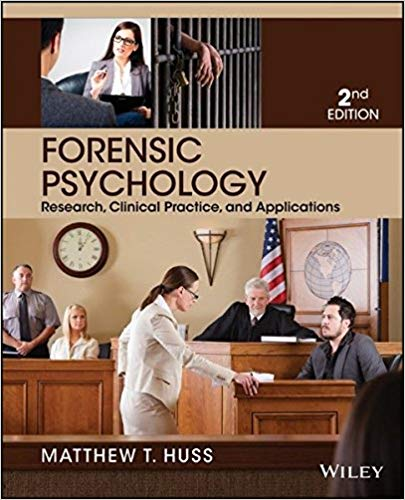 Forensic Psychology 2nd Edition by Matthew T. Huss PDF - Books with Benefits