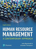 Human Resource Management: A Contemporary Approach 8th Edition by Julie Beardwell  PDF